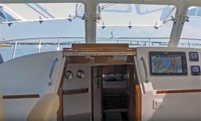 automated boat windshields